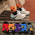 Women Men Cotton Halloween Harajuku Couples Middle Stockings Deer Socks Hosiery