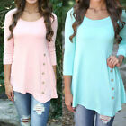 Women Lady Casual Loose Long Sleeve O Neck Blouses Shirt Jumper T-Shirts Tops