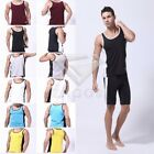 Mens Sports Muscle Tee Gym Vest Boxing Apparel Jersey T-Shirts Tank Tops SFNK79