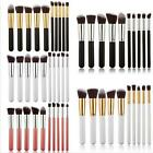 Hotsale 10xMakeup Brushes Cosmetic Foundation Blending Blush Brush Kabuki Kit Z