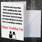 Greetings Card Comedy Novelty Funny Humour Wedding GROOM $6.38 USD on eBay