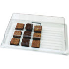 "Внешний вид - Cambro RD1220CW135 Display Cover Rectangular 12"" X 20"" (Tray sold separately)."