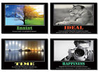 """4x Poster Celebrity Famous Sayings Motivational Positive Inspirational 20 30 36"""""""