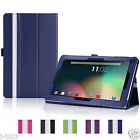 "Leather Case Cover For 10.1"" Android ( Irulu Alldaymall Touchpad... ) Tablet DZD"