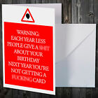 ADULT BIRTHDAY CARD FUNNY HUMOUR FRIEND BROTHER SISTER