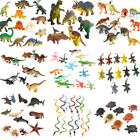 Plastic Farm Zoo Figure Jungle Wild Animal Bugs Insect Kids Toy Party Bag Filler