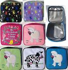 Kids Animal Insulated Lunch Bag Girl Boy - Sheep, Cow, Skull