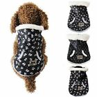 Xmas Pet Cat Dog Puppy Soft Padded Vest Harness Warm Coat Clothes Jacket Apparel