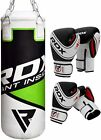 RDX Punching Bag Kids 2FT Filled MMA Boxing Set Punch Glove Kick Junior Children