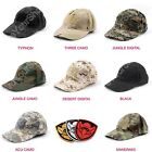 Special Forces Operator Tactical Baseball Hat Cap With 3D SWAT PVC Velcro Patch
