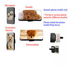Havanese Terrier Pomeranian Inspired dog leather phone case for Iphone HTC LG