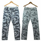 NWT Levi's Men Chino Camo Regular Fit Twill Pants 100% Cotton LEVIS Gray/ Black