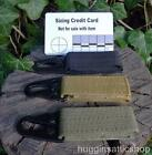 Hook & loop trigger clip Molle Nylon Belt loop Lanyard key dangler Bushcraft EDC
