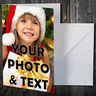 100 QUALITY Personalised Photos & Message Collage All Occasion A6 Card Birthday