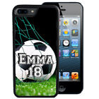 PERSONALIZED RUBBER CASE FOR iPHONE 6 6s 7 Plus SOCCER PLAYER