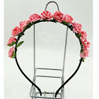 New Rose Flower Crown Festival Headband Wedding Floral Garland Hairband Hesdwear
