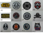 NEW STARWARS EMBROIDERED IRON ON PATCH  BIKER MOTOCYCLE T-SHIRT FREESHIPPING