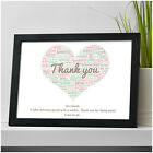 Personalised Teacher Classroom Assistant Nursery Childminder Thank You Gifts