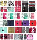 Wallet Pouch Case Phone Cover for Kyocera Hydro AIR C6745 LTE / Wave C6740