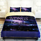 Galaxy Doona Covers Double Queen King Bed Size Pillowcases Quilt/Duvet Cover Set