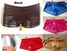 Metallic Rave Booty Dance Shorts Pants Boyshort underwear size S M L #998