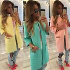2015 Fashion Women's Winter Warm Coat Jacket Long Tops Parka Cardigan Clothes