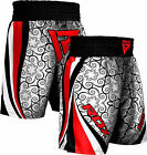 RDX MMA Shorts UFC Kick Boxing Mens Muay Thai Grappling Pants Gym Wear Fighting