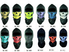 Red Skull Balaclava Biker Full Face Mask Ski Snowmobile Motorcycle Neck Hood