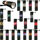 NHL Licensend Hockey Sports Teams logo 9x LED s Water Resistant Flashlight $7.95 USD on eBay
