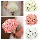 10 PCS Popular Bridal Bouquet Rose Flower Party Wedding Bridesmaid Decoration