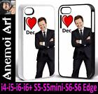 k2 I Love Dec Donnelly Ant & Dec Picture Phone Cover Case i4 i5 i6 + S5 S6 Edge