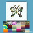 Decorative Butterfly Art - Decal Sticker - Multiple Patterns & Sizes - ebn135