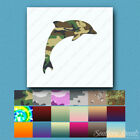 Dolphin Jumping - Vinyl Decal Sticker - Multiple Patterns & Sizes - ebn217