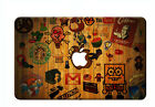 """Painting Wood Hard shell Case Cover for Macbook Pro 13""""15""""Retina Air 11""""13+KB+SP"""