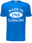 50th Birthday Made in 1966 Mens Gift Unisex T-Shirt  Size S-XXL