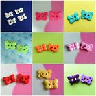 20 Cute 2 hole Butterfly Insect Novelty Baby Enfant Kid Sew On Buttons