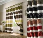 GROSVENOR FULLY LINED CURTAINS ~ Three Colours & Sizes