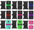 Holster + Hybrid Case Cover for ZTE STRATOS Allstar LTE Z818G Z819C Z819L Z818L