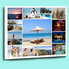 Fantastic Personalised Photo Collage Canvas Box Framed Ready to Hang Many Sizes