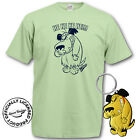 MUTTLEY T SHIRT & KEYRING GIFT SET S M L XL MENS & LADIES WACKY RACES DASTARDLY