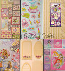 DISNEY CRAFT STICKERS ALPHABET FLORAL FRAMES TAGS SALE CARDMAKING SCRAPBOOKING