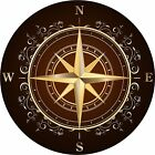 Rose compass decal Camper RV motor home mural graphic