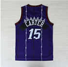 VINCE CARTER #15 Swingman Stitches Raptors Jersey North Carollina Sewn S-2XL