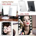 16LED/20LED Lighted Cosmetic Vanity Tabletop Countertop Beauty Makeup Mirror