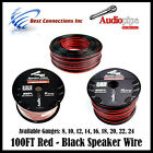 Audiopipe 8-22 Gauge Available - 100FT Stranded 2 Conduct...