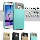 Galaxy S6 Case Shockproof Hybrid Protective Rubber S7 Edge S8 Plus S8+ Cover