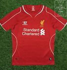 Liverpool Home Shirt  - Official Warrior LFC Football Jersey - Boys - All Sizes