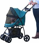 Pet Gear Happy Trails NO-ZIP Stroller Dog Cat Jogger Weather Cover PG8030NZBB