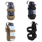 Black Coyote Tan Lightweight MOLLE Hydration H20 Water Bottle Carrier Holder