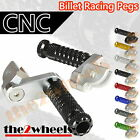Multi Step Position Adjustable Foot Pegs FRONT HONDA CBR250R MC41 (2011+)